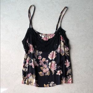 Billabong Floral Tank Top
